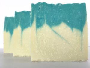 Blue Sky Unfragranced 100% Olive Oil Castile Soap cross-section