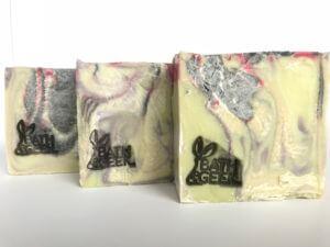 Verve Unfragranced 100% Olive Oil Castile Soap cross-section