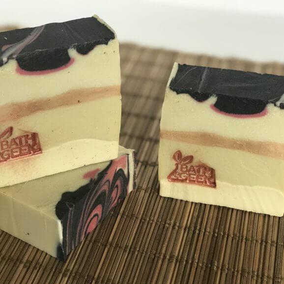 Strawberry Rose 100% Olive Oil Castile Soap