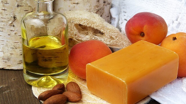 Stock Photo Oil Soap Apricot