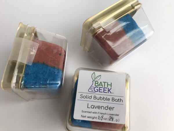 Lavender Bubble Bath - Package