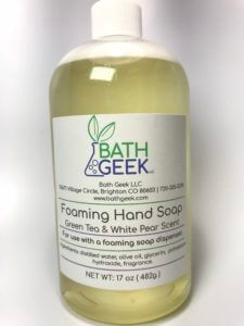 Green Tea & White Pear Foaming Liquid Soap
