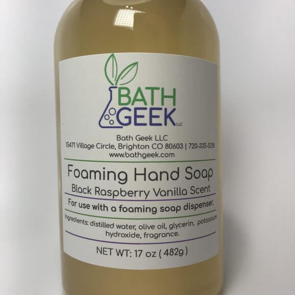 Foaming Liquid Soap Refill - Black Raspberry Vanilla Scent