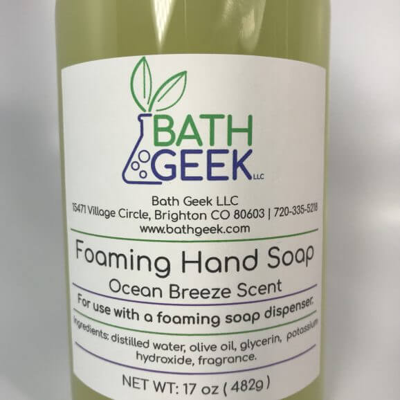 Ocean Breeze Foaming Liquid Soap