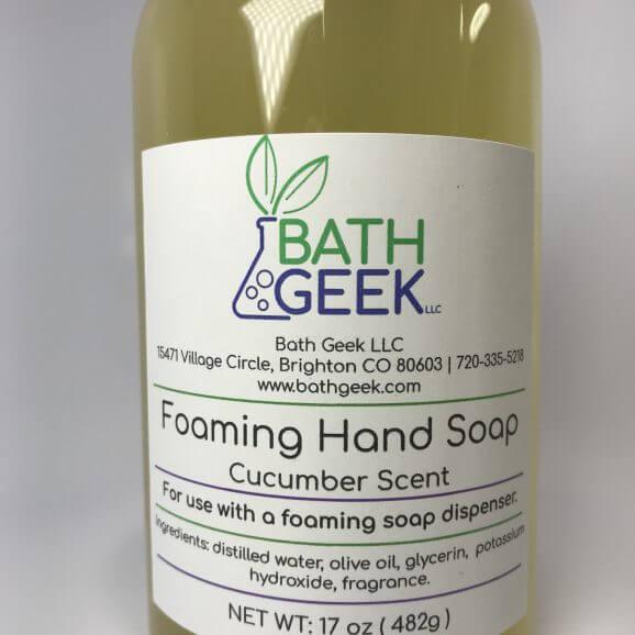 Cucumber Foaming Liquid Soap