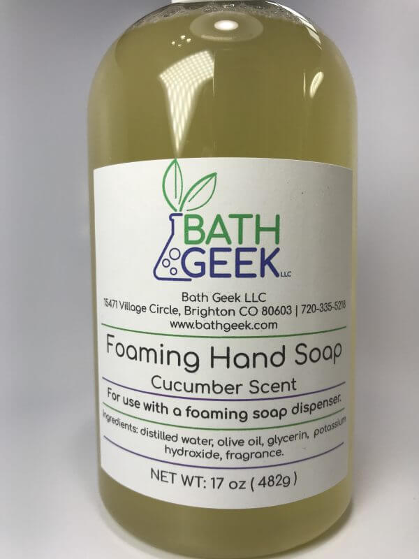 Cucumber Foaming Liquid Soap