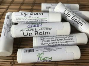 Unflavored Lip Balm - Close View