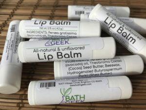 Unflavored Lip Balm - Close View