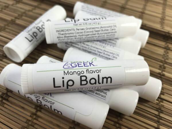Mango Lip Balm - Close View