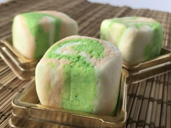 Green Tea & White Pear - Close-up