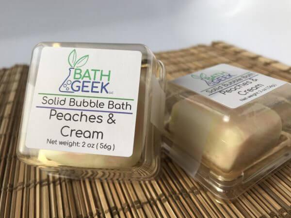 Peaches & Cream Bubble Bath - Box View