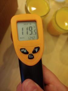 Paraffin Melting Temperature (proof #1)