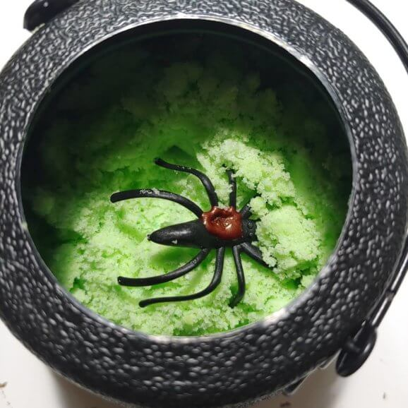 Inside Cauldron Bath Bomb