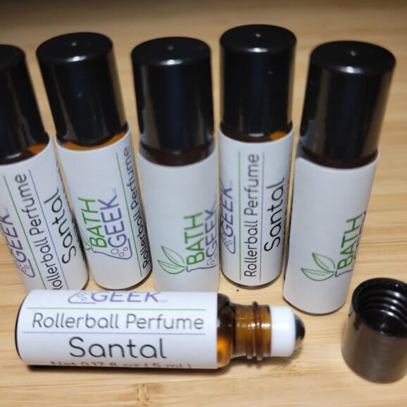Santal Rollerball Perfume